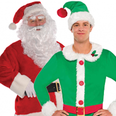All Men's Christmas Costumes