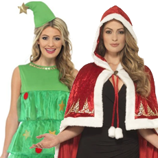 All Women's Christmas Costumes