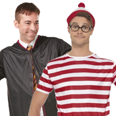 All Men's World Book Day Costumes