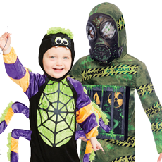 All Boy's Halloween Costumes