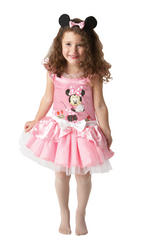 Girls Minnie Mouse Pink Ballerina Costume