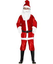 Kid's Mini Santa Claus Costume