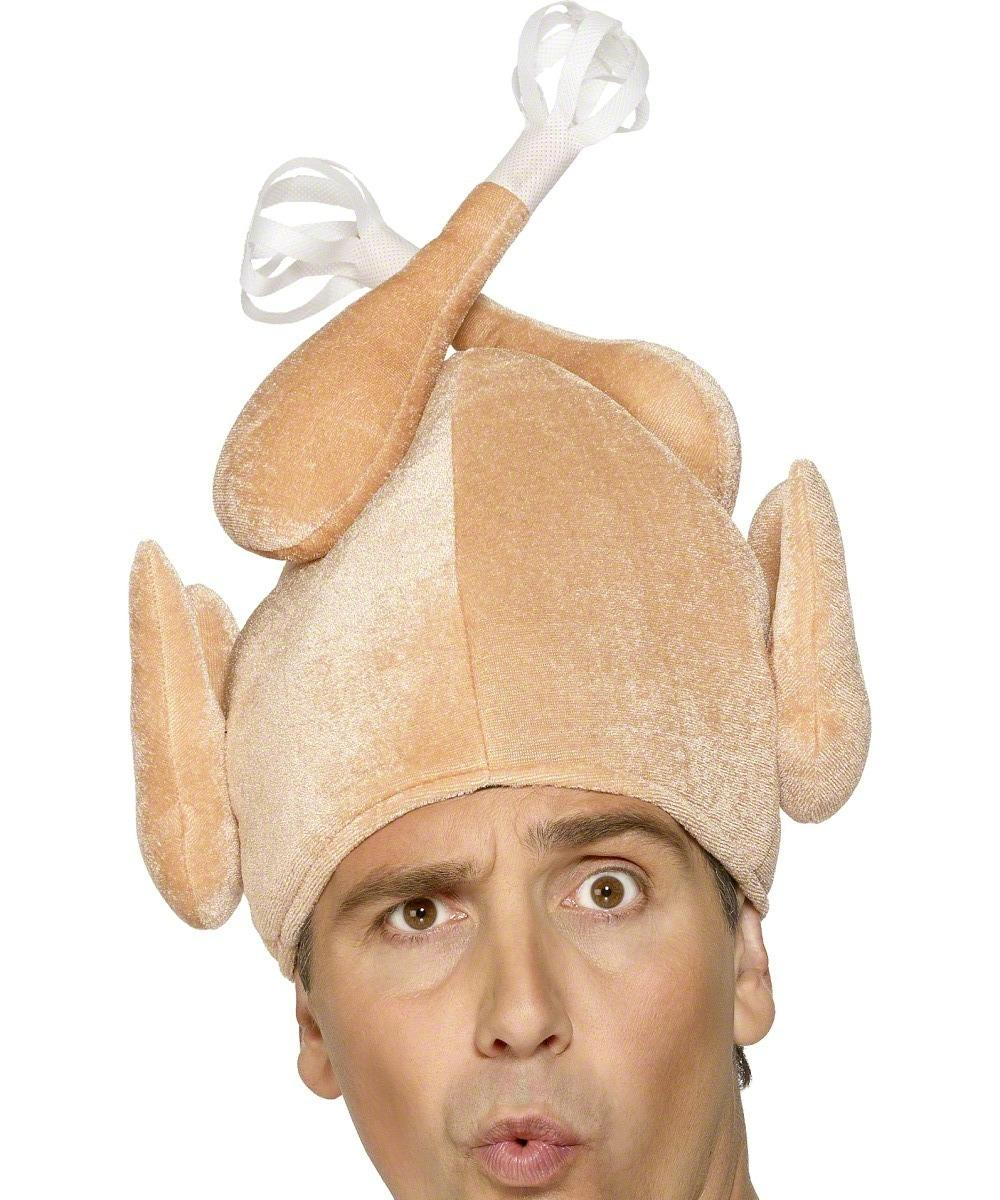 Turkey Hat with Head /& Legs Accessory//Hat Christmas Fancy Dress