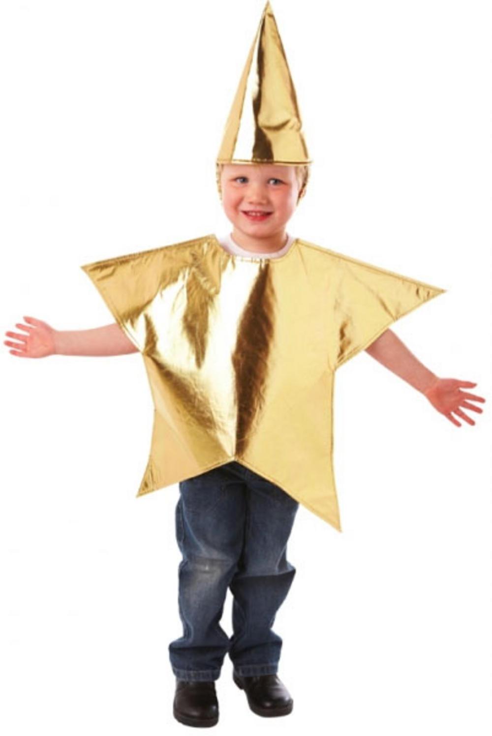 Christmas Fancy Dress Kids.Kids Star Costume