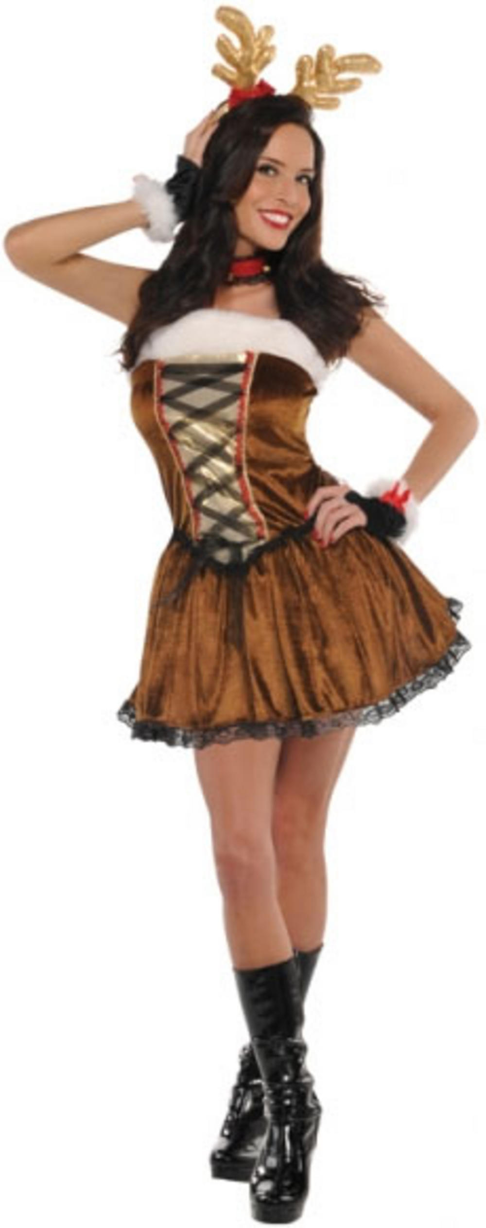 Miss Vixen Reindeer Costume  sc 1 st  Mega Fancy Dress & Miss Vixen Reindeer Costume | All Ladies Costumes | Mega Fancy Dress