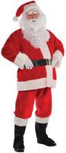Deluxe Plush Santa Costume