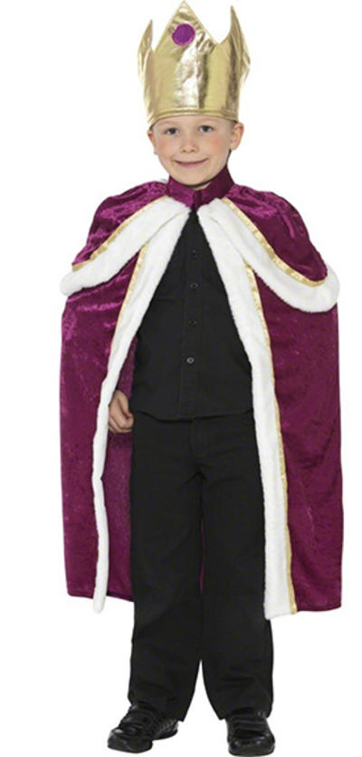 Kids Kiddy King Wise Man Costume
