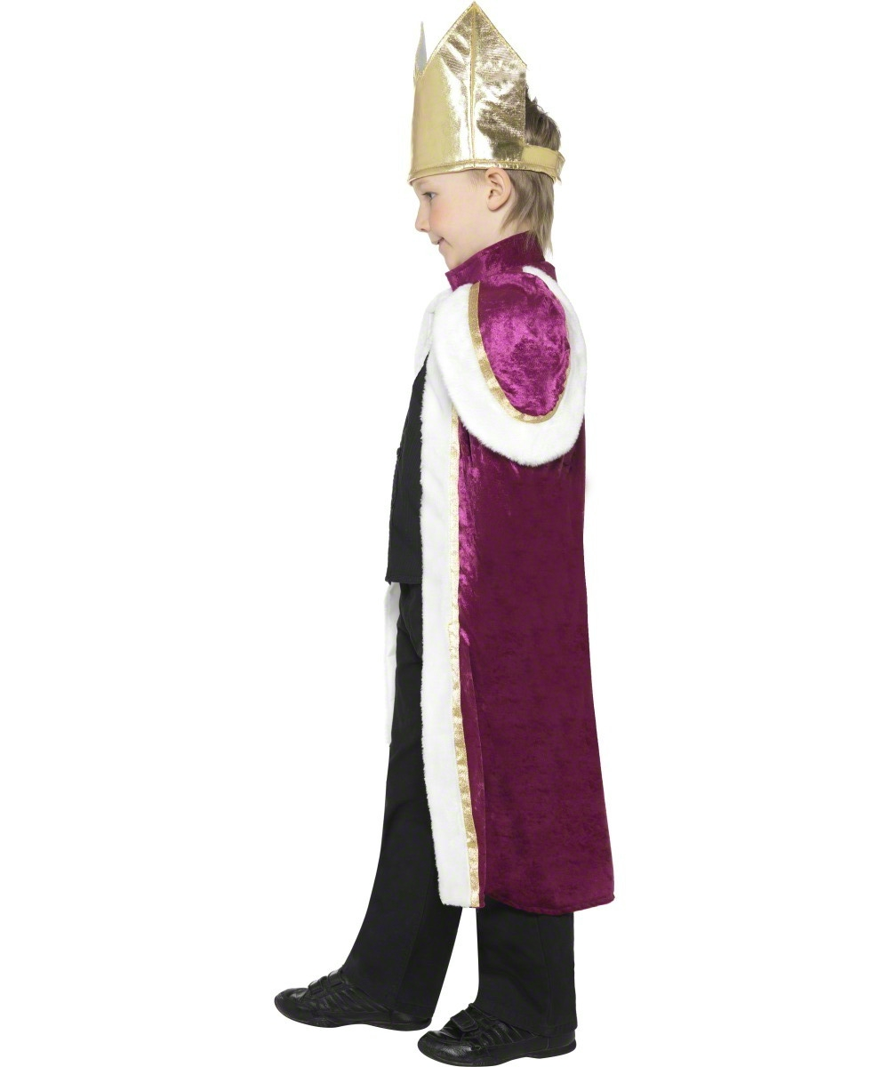 Kids Kiddy King Wise Man Fancy Dress Costume