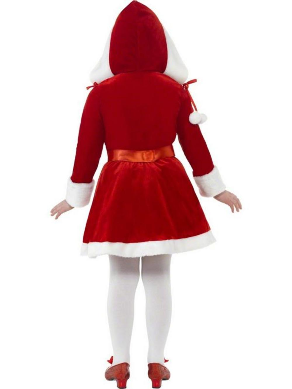 Kids Miss Santa Christmas Fancy Dress Costume Kids