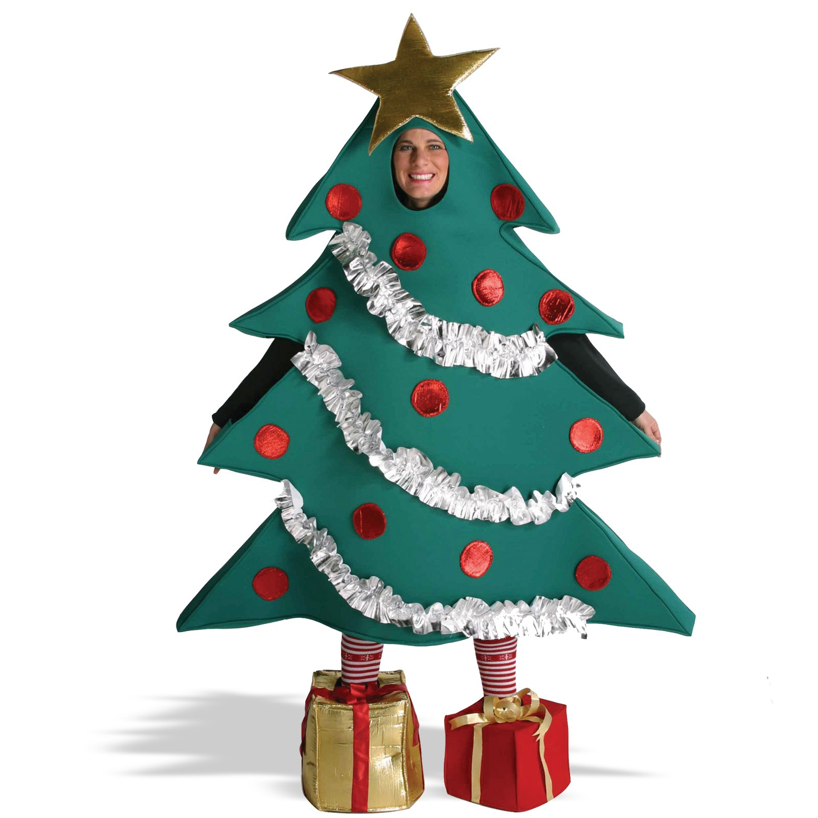 Christmas tree dress up images - Deluxe Christmas Tree Bodysuit Costume