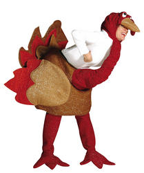 Deluxe Christmas Turkey Costume