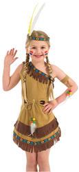 Girls Indian Girl Costume