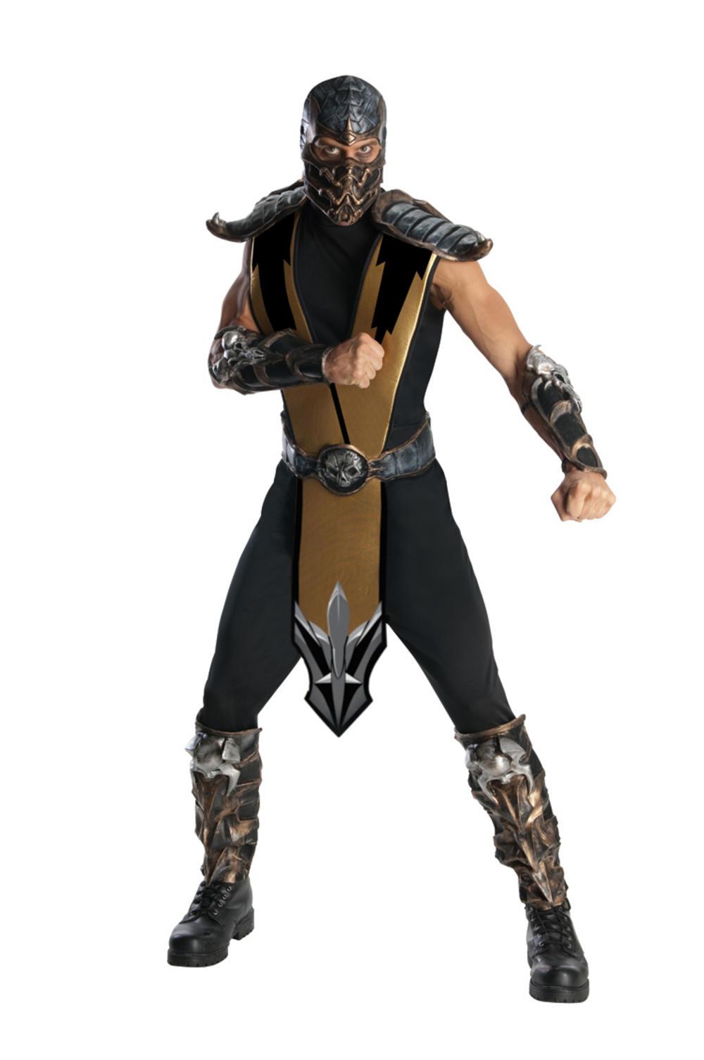 Mortal Kombat Scorpion Fancy Dress