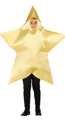 Kids Gold Star Costume