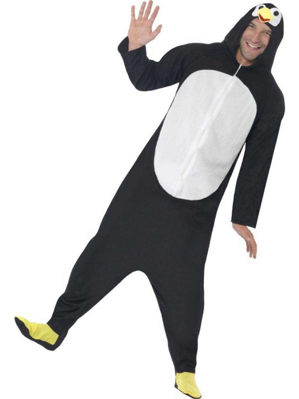 Adult Onesie Penguin Costume