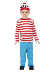 Where's Wally Kids Costume
