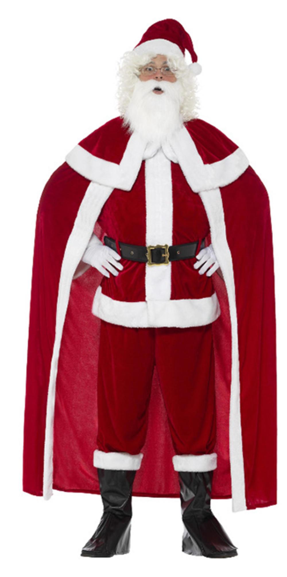 Deluxe Santa Claus Mens Costume