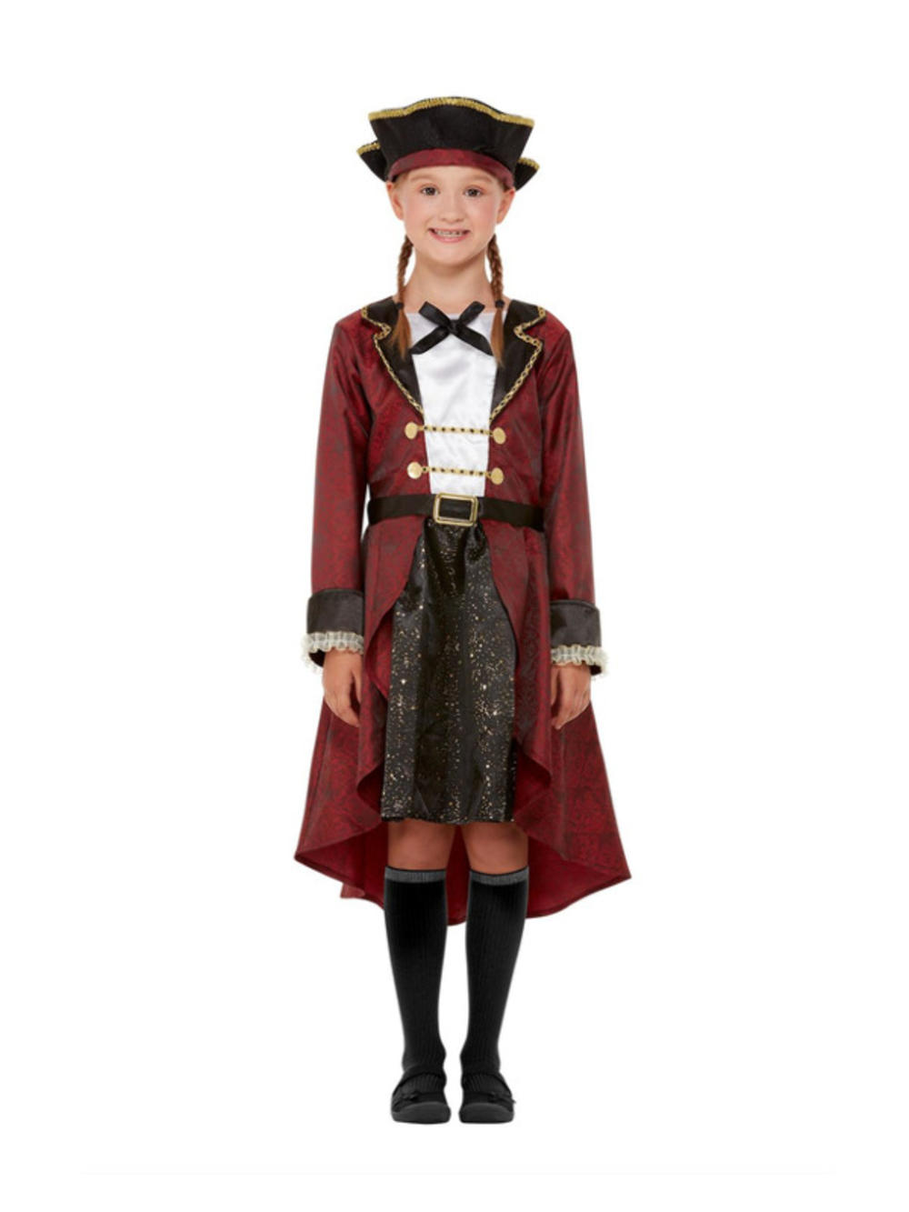 Swashbuckler Pirate Girls Costume