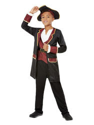 Deluxe Swashbuckler Pirate Boys Costume