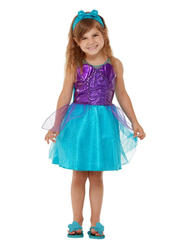 Toddler Mermaid Girls Costume