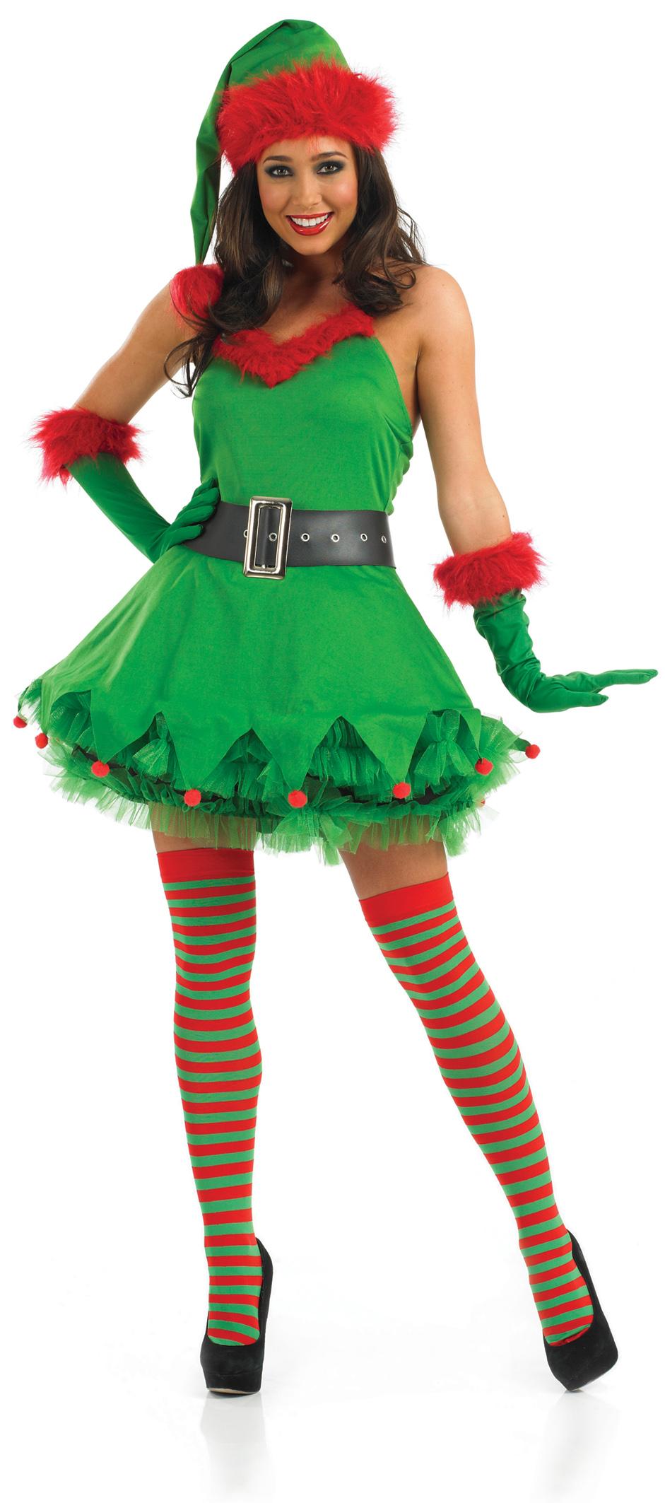 Little Helper Elf Costume All Ladies Costumes Mega