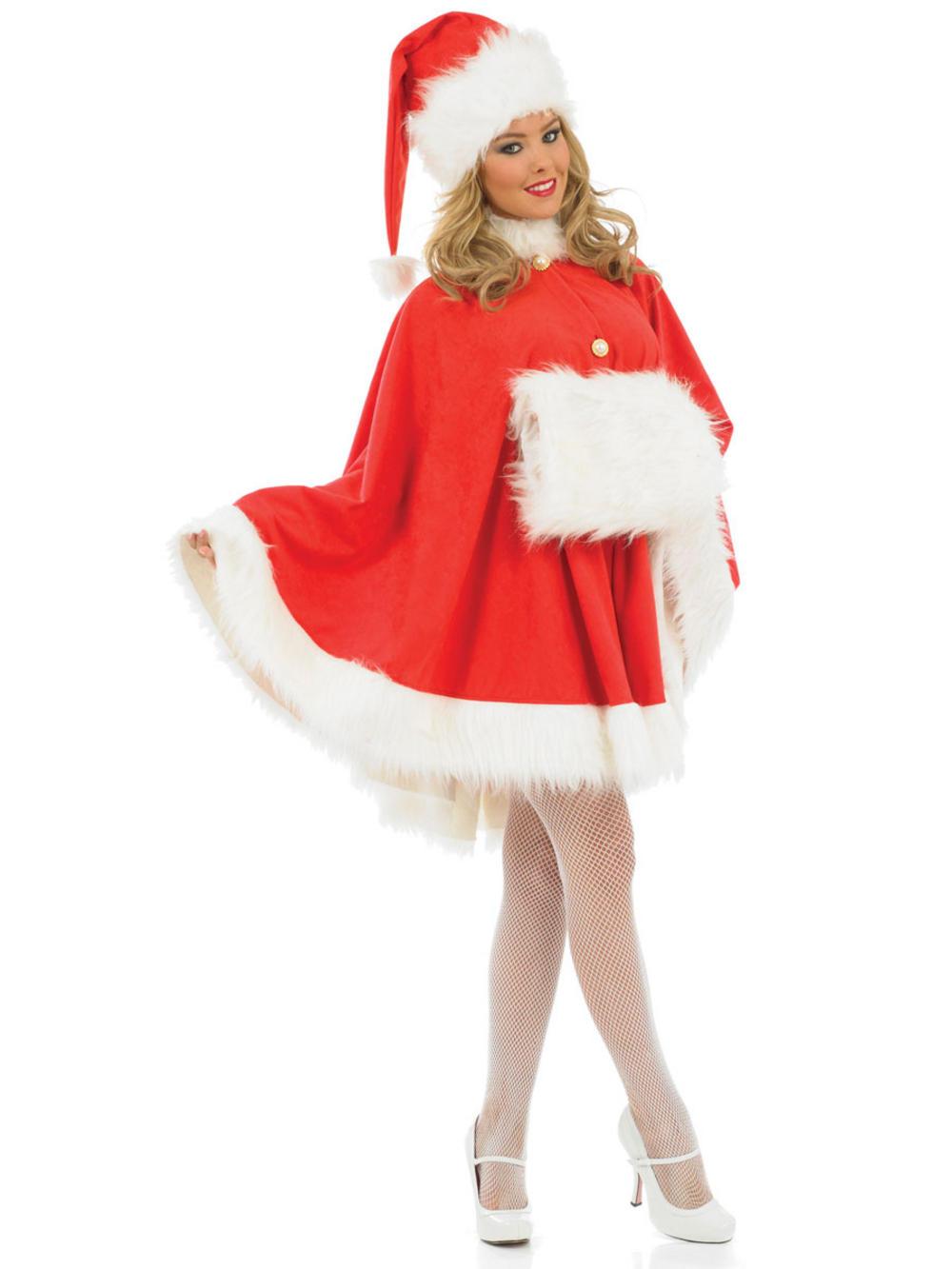 Santa Cape Costume