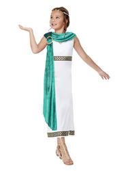 Deluxe Roman Empire Queen Girls Costume