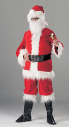Deluxe Santa Santa Suit with Boots