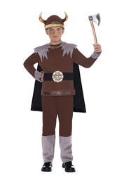 Viking Warrior Boys Costume