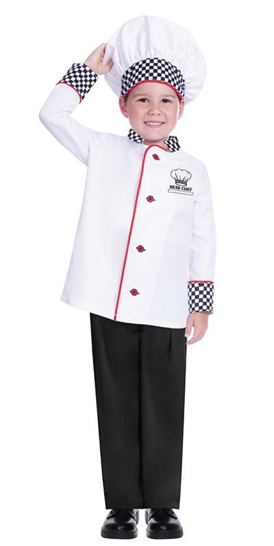 Kids Chef Costume