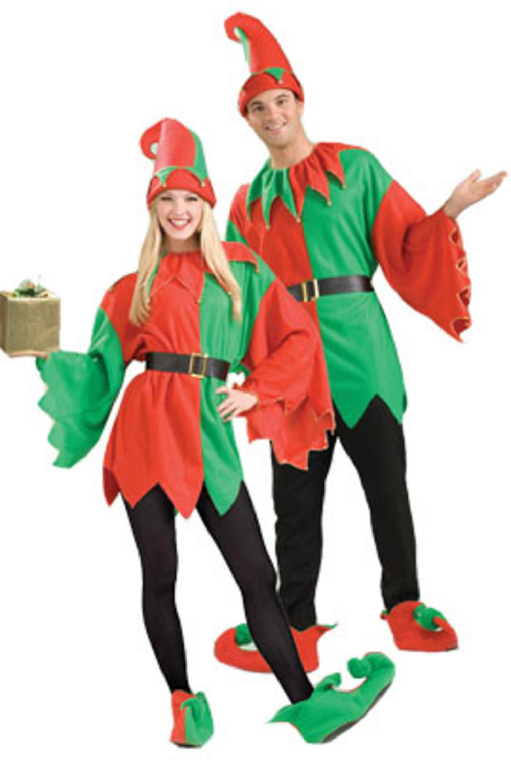 Unisex Santas Little Helper Elf Costume