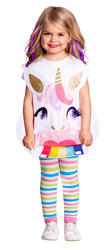 Unicorn Tabard Girls Costume