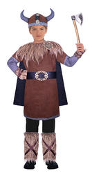 Wild Viking Warrior Boys Costume