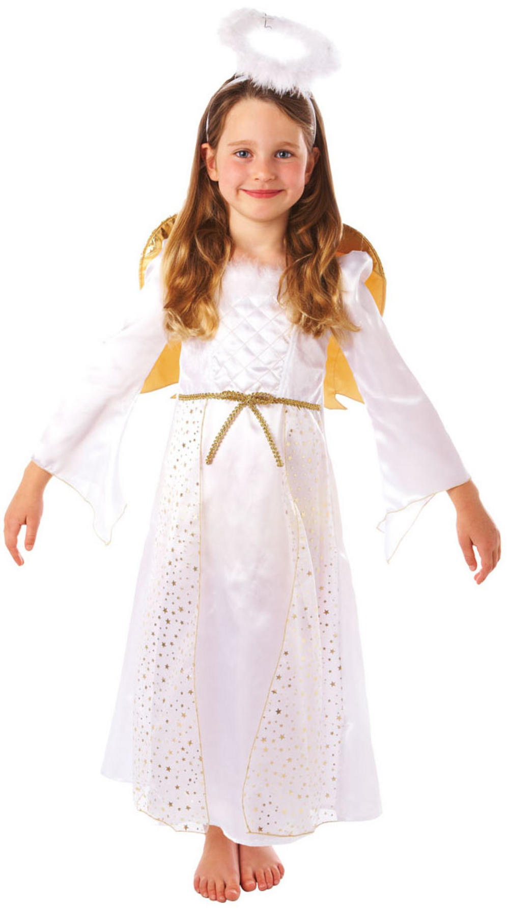 Girls Angel Nativity Costume