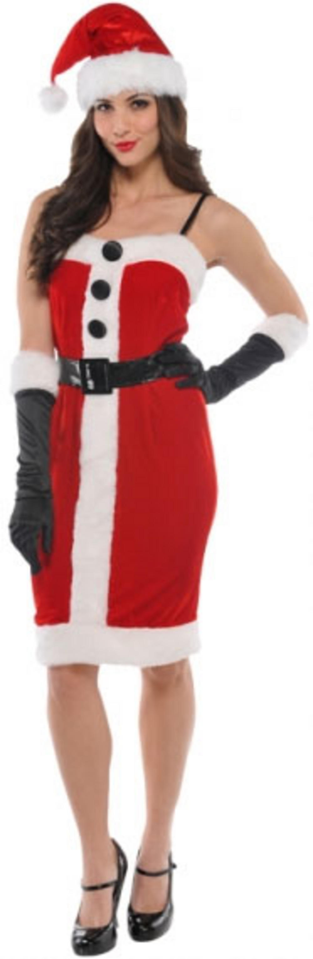 Jolly Holly Miss Santa Christmas Costume