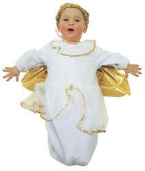 Baby Bunting Angel Christmas Costume