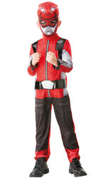 Deluxe Red Beast Morpher Costume