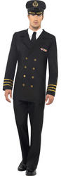 Black Navy Officer Costume