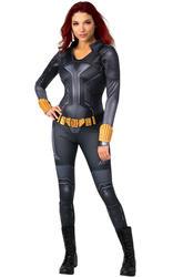 Ladies Deluxe Black Widow Costume