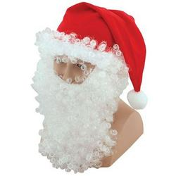 Santa Hat and Wig Set