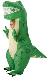 Childs Inflatable Rex Costume