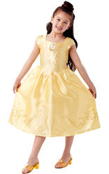 Classic Belle Costume With Jelly Shoes