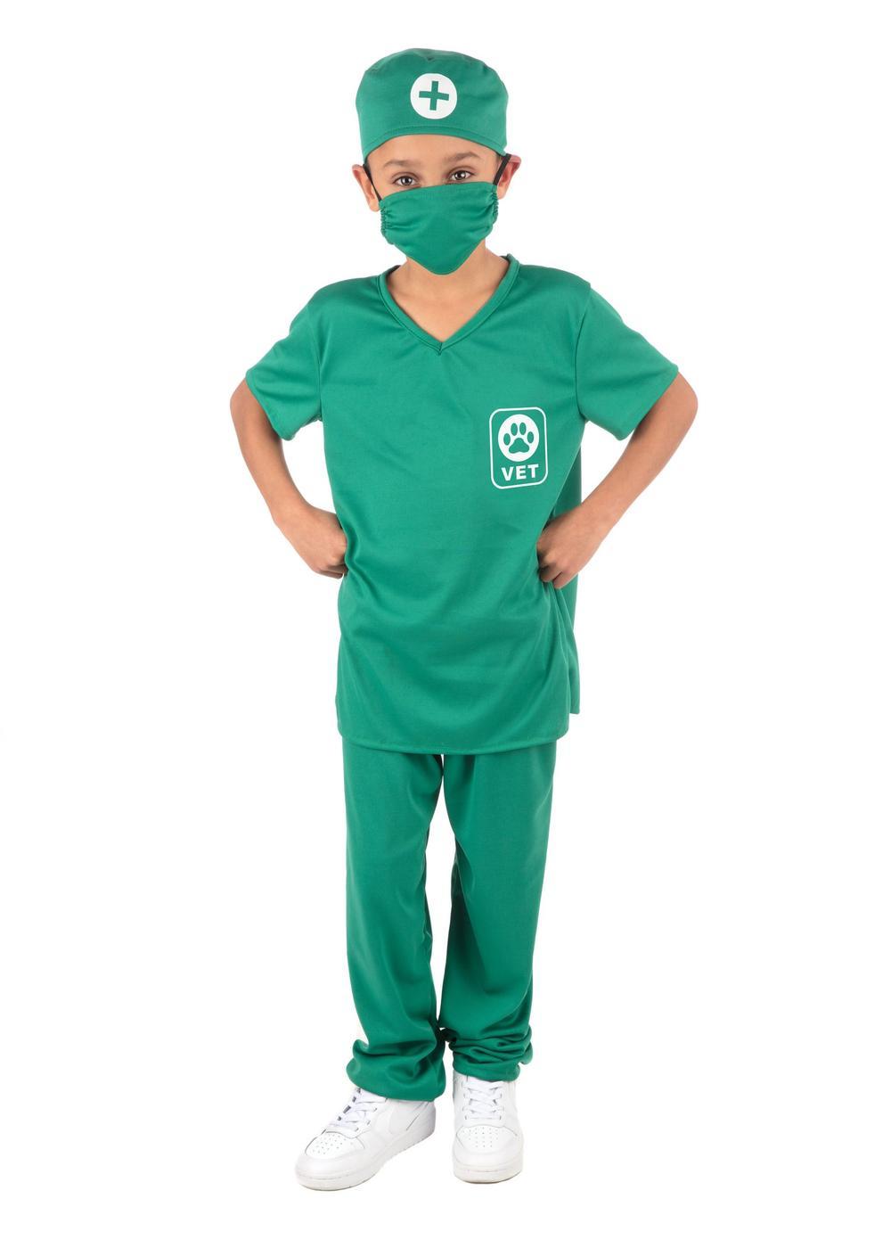 Kids Unisex Vet Costume