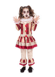 Girls Carnival Clown Costume
