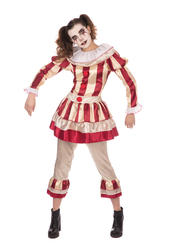Ladies Carnival Clown Costume