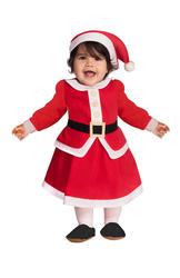 Girls Little Miss Santa Costume