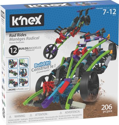 K'NEX Rad Rides Building Set