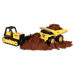 Metal Movers - Bulldozer & Dump Truck