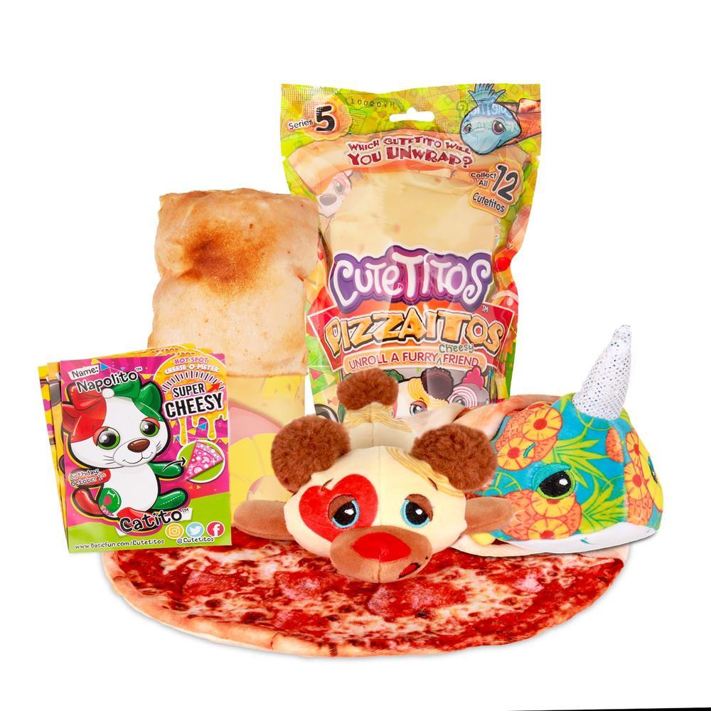 """Cutetitos Plush 7"""" Pizzaitos- Unicornito Series Five"""