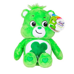 "Bean Plush 9"" Good Luck Care Bear"
